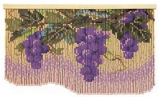 Схемы шторы из бусин своими руками 26